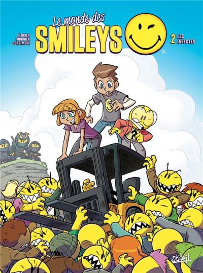 Couverture Le monde des smileys tome 2