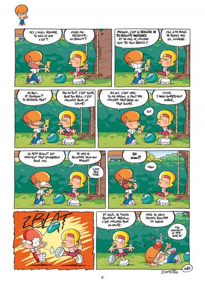 Page 4 Les p'tits diables tome 27