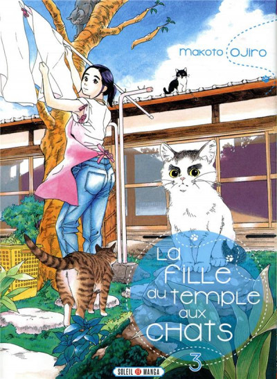 Couverture La fille du temple aux chats tome 3