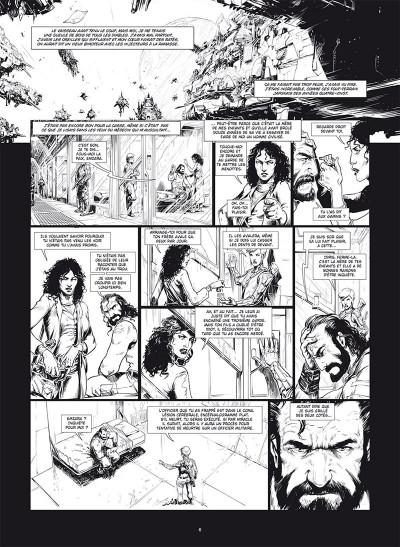 Page 4 Conquêtes tome 2 - édition n&b