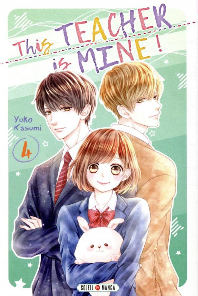 Couverture This teacher is mine ! tome 4