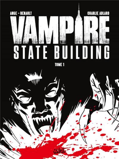 Couverture Vampire state building - édition noir & blanc tome 1 + ex-libris offert