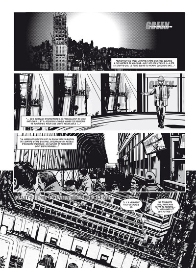Page 1 Vampire state building - édition noir & blanc tome 1 + ex-libris offert