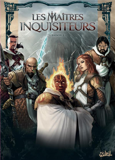 Couverture Les maîtres inquisiteurs - coffret tomes 7 à 12