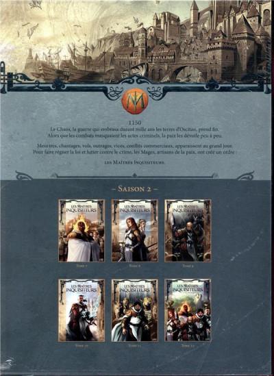 Dos Les maîtres inquisiteurs - coffret tomes 7 à 12