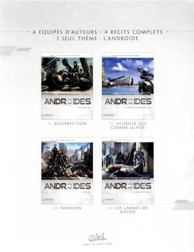 Dos Androïdes - coffret tomes 1 à 4
