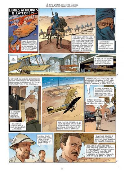 Page 3 L'aéropostale - des pilotes de légende tome 7