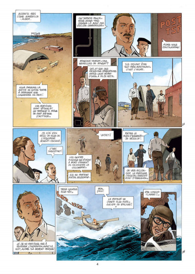 Page 4 L'aéropostale - des pilotes de légende tome 7