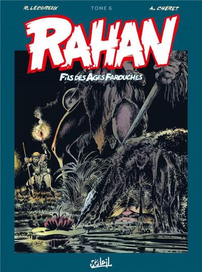 Couverture Rahan - intégrale tome 6