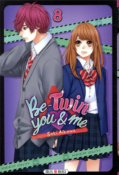 Couverture Be-twin you & me tome 8