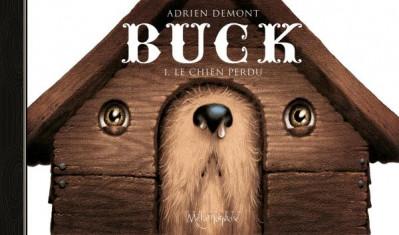 Couverture Buck le chien perdu