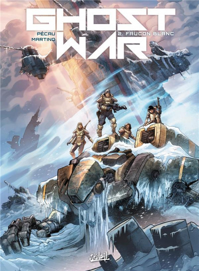 Couverture Ghost war tome 2