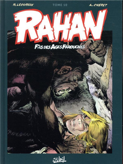 Couverture Rahan - intégrale tome 10