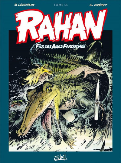 Couverture Rahan - intégrale tome 11