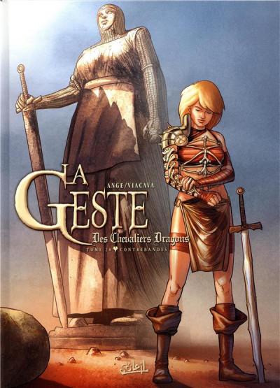 Couverture La geste des chevaliers dragons tome 28