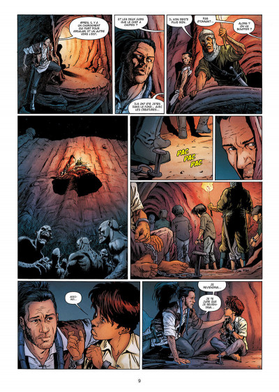 Page 9 La geste des chevaliers dragons tome 28