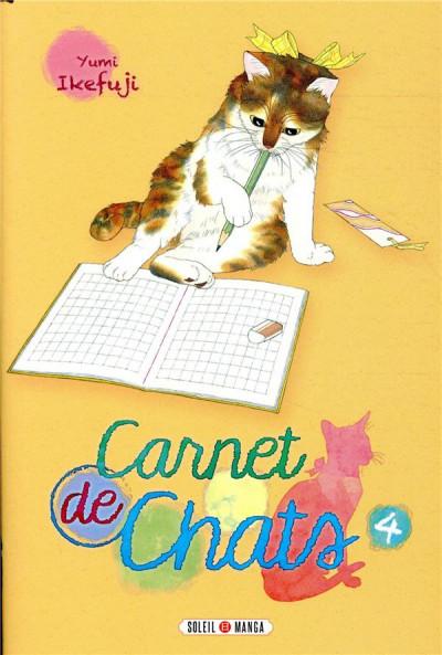 Couverture Carnet de chats tome 4