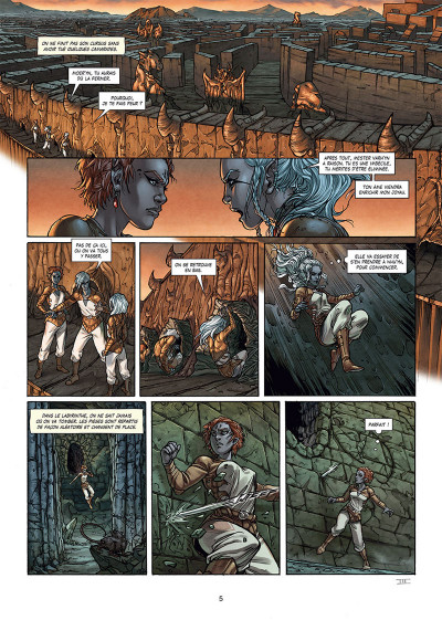 Page 3 Elfes tome 25
