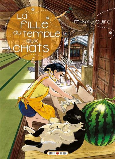 Couverture La fille du temple aux chats tome 4