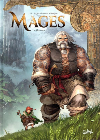 Couverture Mages tome 1