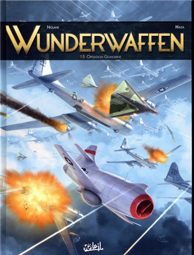 Couverture Wunderwaffen tome 15