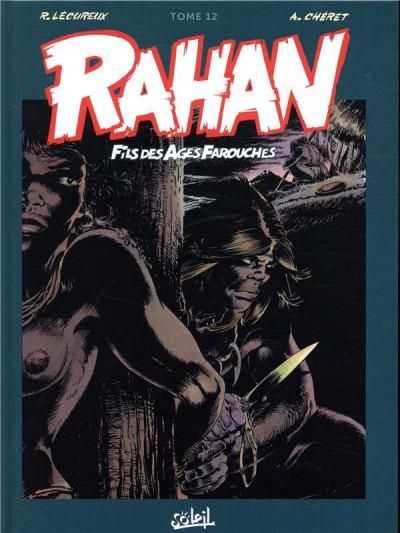 Couverture Rahan - intégrale tome 12