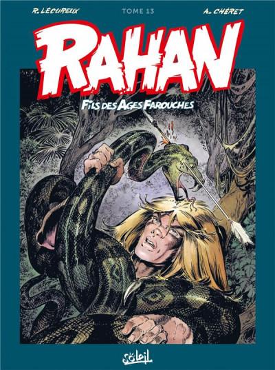 Couverture Rahan - intégrale tome 13