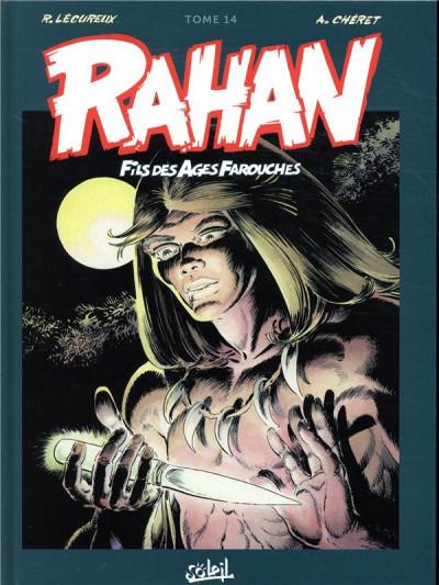Couverture Rahan - intégrale tome 14
