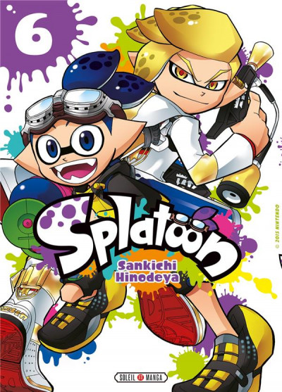 Couverture Splatoon tome 6