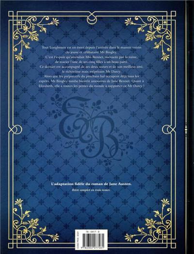 Dos Orgueil et préjugés tome 1