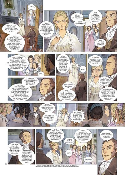 Page 2 Orgueil et préjugés tome 1