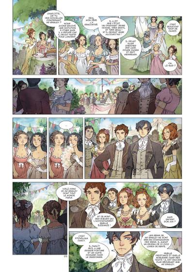 Page 3 Orgueil et préjugés tome 1