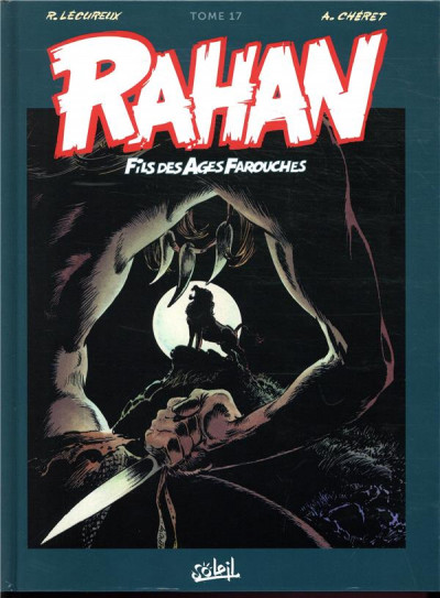 Couverture Rahan - intégrale tome 17