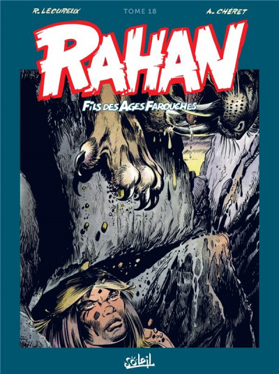 Couverture Rahan - intégrale tome 18