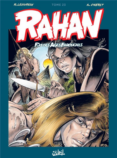 Couverture Rahan - intégrale tome 23