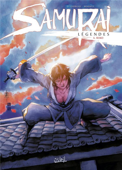 Couverture Samurai légendes tome 6