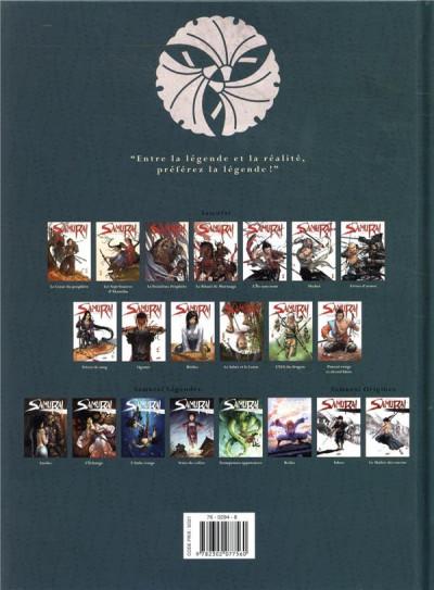 Dos Samurai légendes tome 6