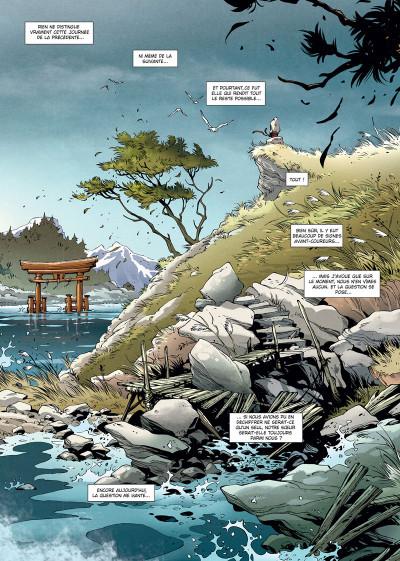 Page 1 Samurai légendes tome 6