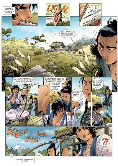 Page 2 Samurai légendes tome 6