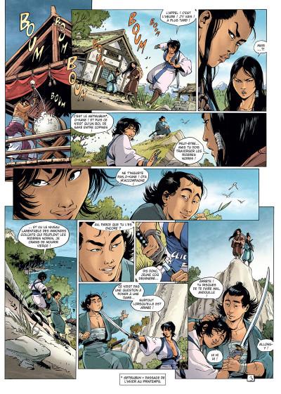Page 3 Samurai légendes tome 6
