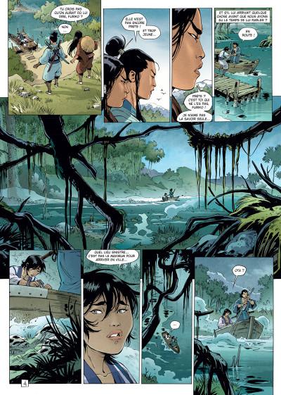 Page 4 Samurai légendes tome 6