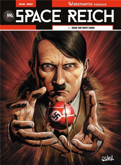 Couverture Wunderwaffen présente Space Reich tome 4