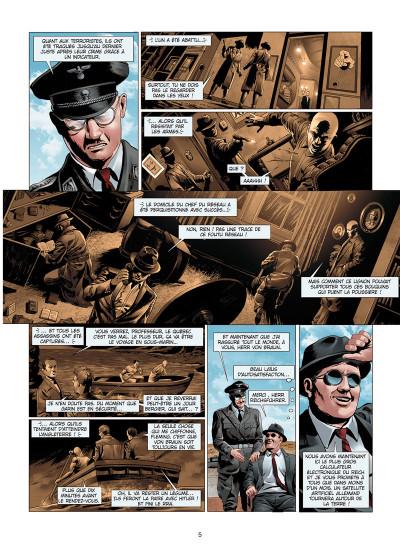 Page 3 Wunderwaffen présente Space Reich tome 4
