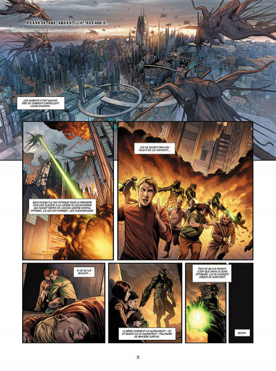 Page 3 Androides tome 7