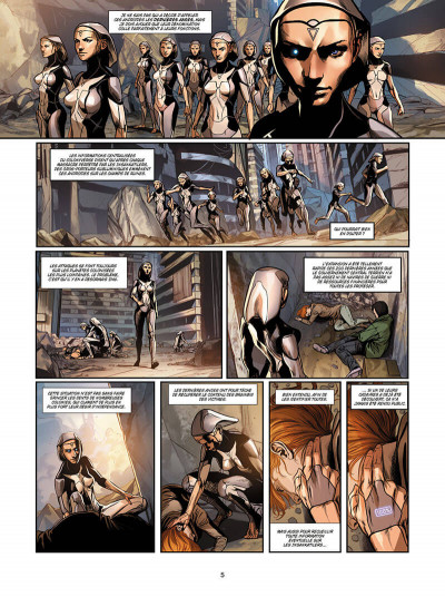 Page 5 Androides tome 7