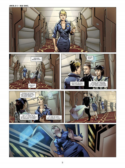 Page 3 Androïdes tome 8