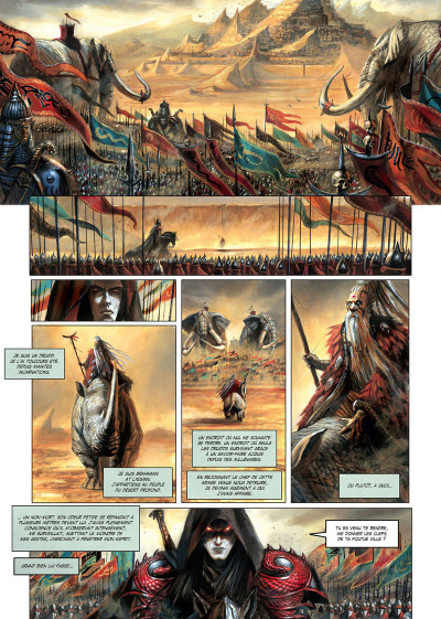 Page 1 La cathédrale des abymes tome 3
