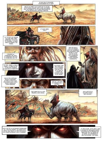 Page 2 La cathédrale des abymes tome 3