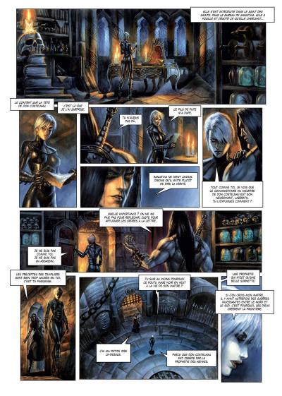Page 3 La cathédrale des abymes tome 3