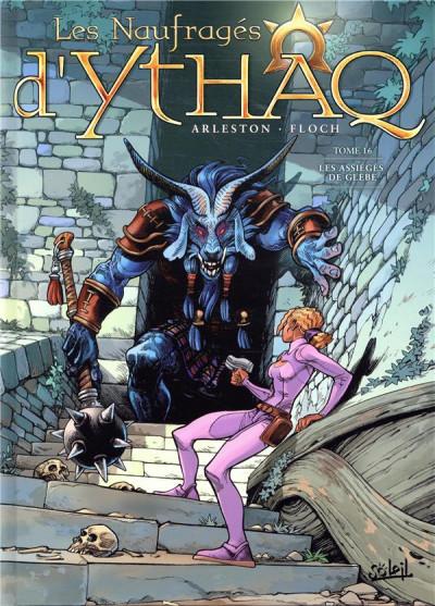 Couverture Les naufragés d'Ythaq tome 16